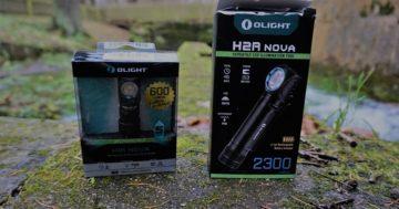 Stirnlampe Olight H1R Nova & H2R Nova