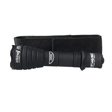 Armytek Viking Pro XHP50 (weiß) - Taschenlampe mit Holster, Clip & Schlüsselband - 2300 LED Lumen - 4