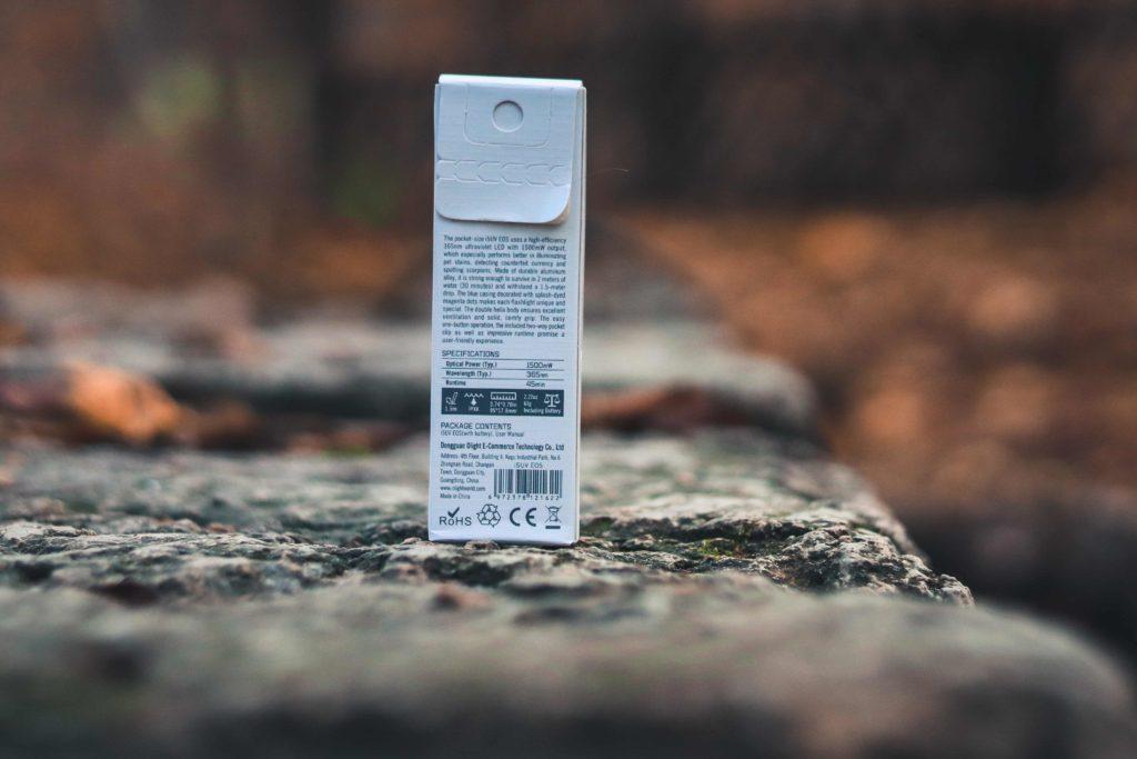 Verpackung Olight i5UV EOS