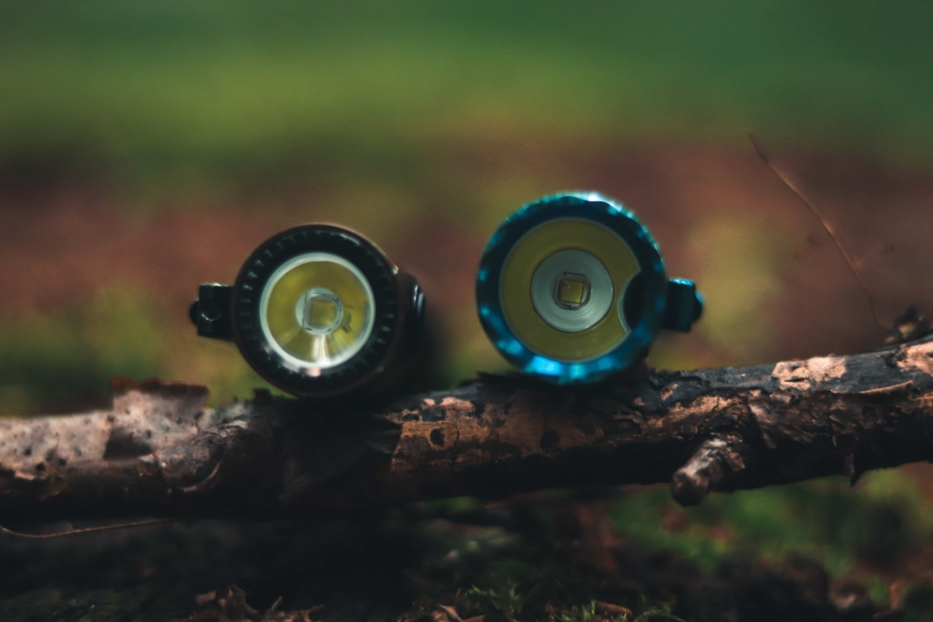 Linse, Reflektor und Sensor